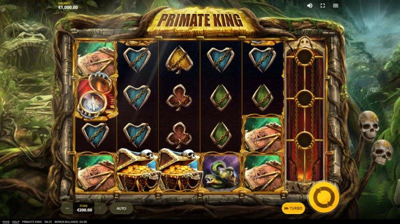 Primate King :: Main Game Board
