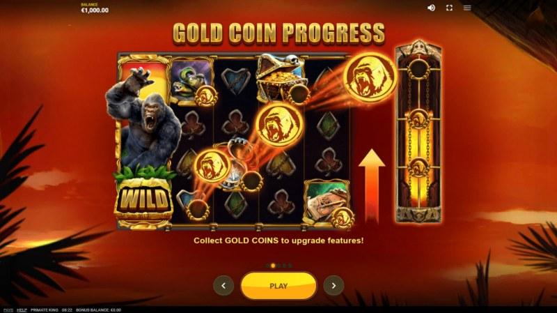 Primate King :: Gold Coin Progress