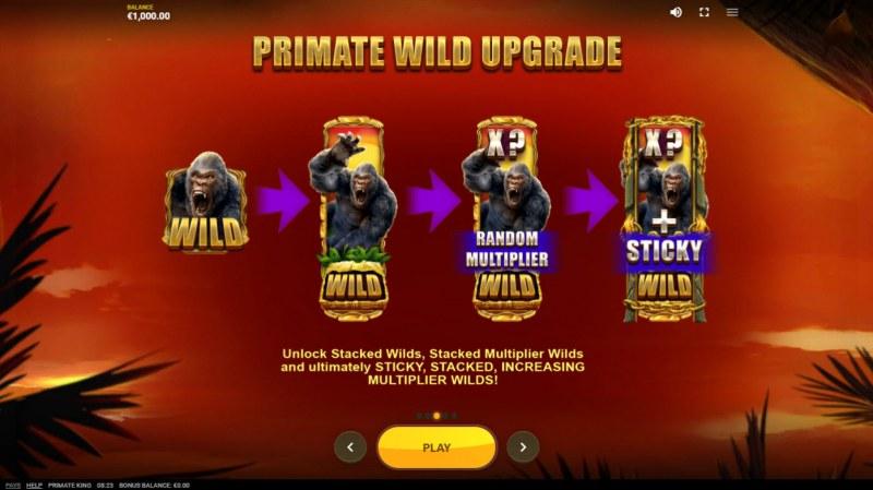 Primate King :: Primate Wild Upgrade