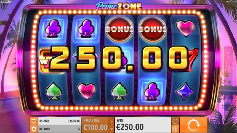 Prime Zone :: Multiple winning paylines
