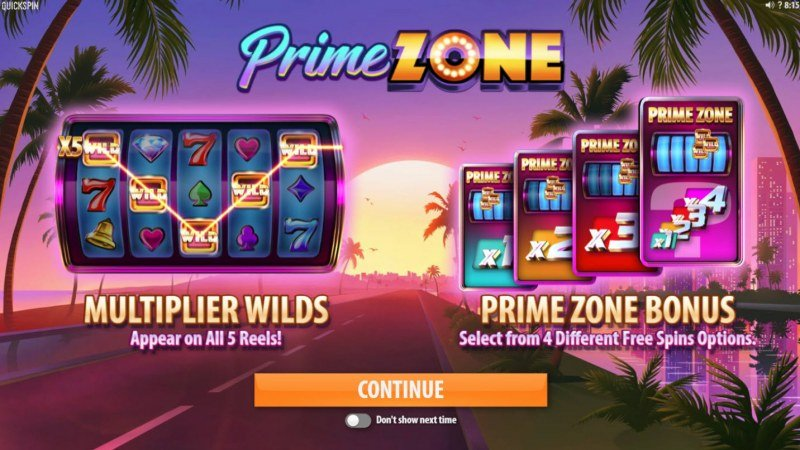 Play slots at Playgrand: Playgrand featuring the Video Slots Prime Zone with a maximum payout of $100,000