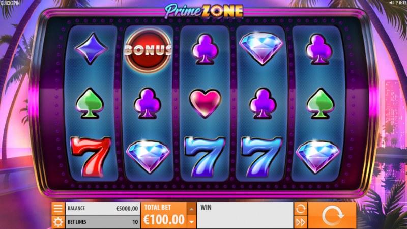 Prime Zone :: Main Game Board