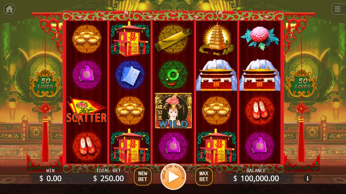 Princes Wencheng :: Main Game Board