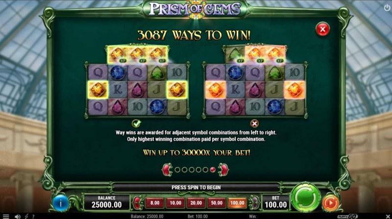Prism of Gems :: 3087 Ways to Win
