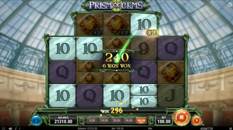 Prism of Gems :: Multiple winning combinations