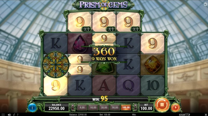 Prism of Gems :: A six of a kind win
