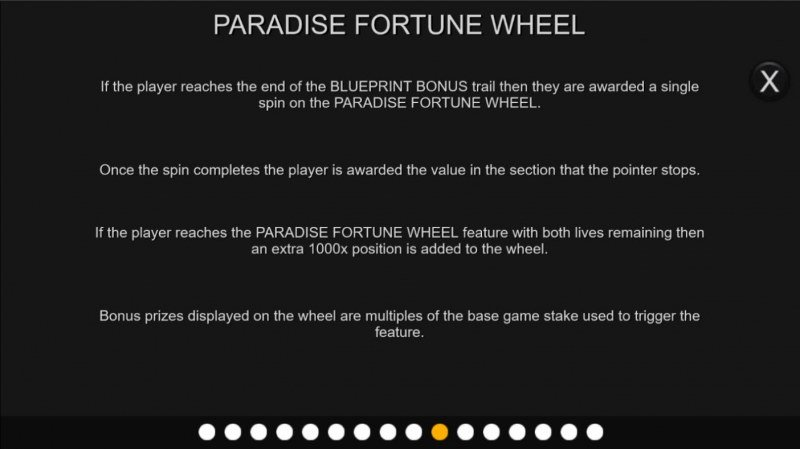 Prison Escape :: Paradise Fortune Wheel