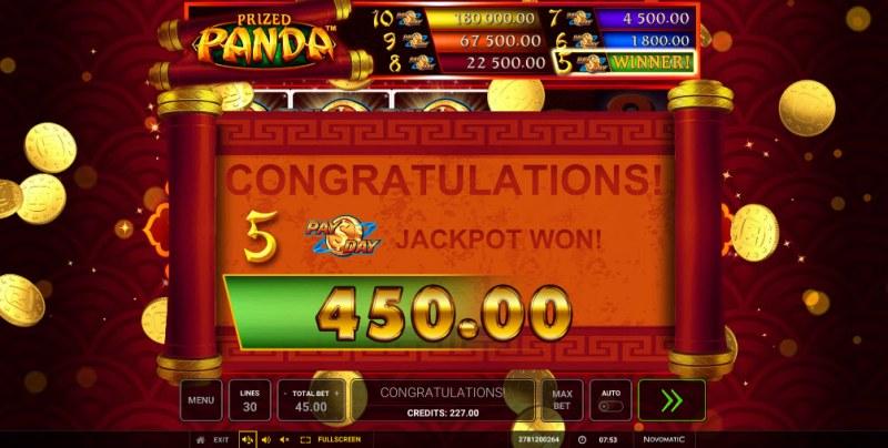Prized Panda :: Big Win
