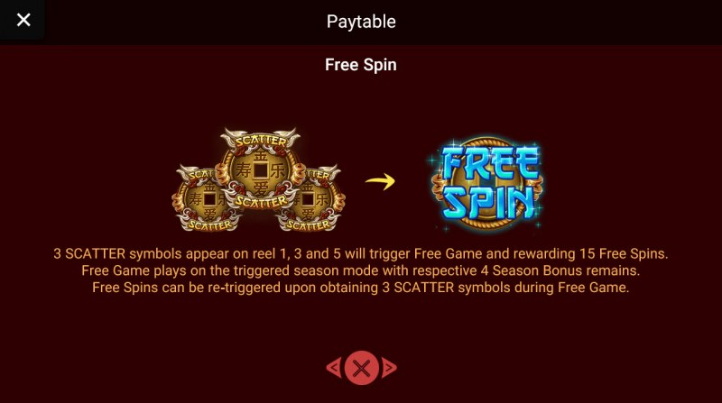 Prosperity Gods :: Free Spins Rules
