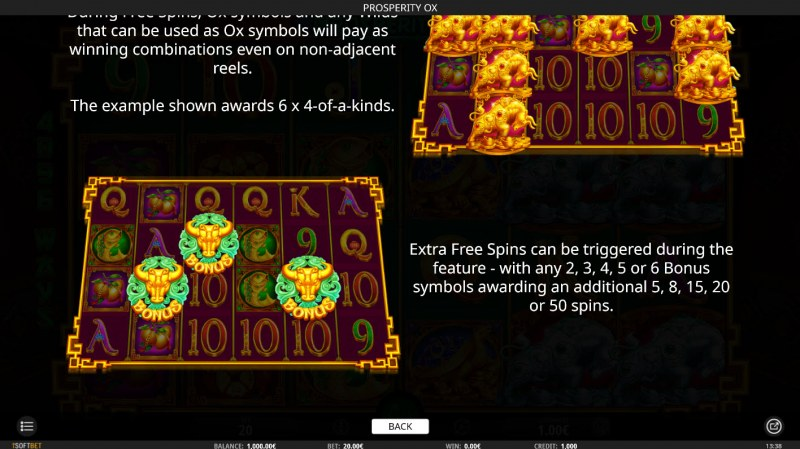 Prosperity Ox :: Free Spins Rules