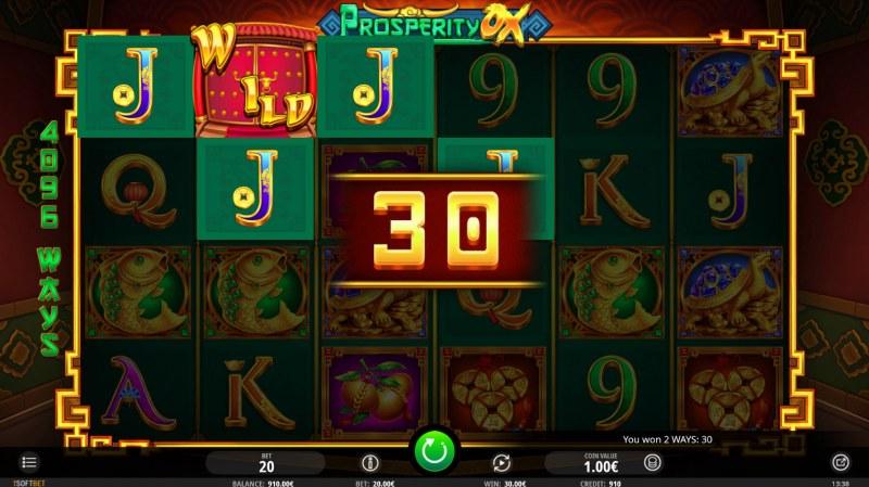 Prosperity Ox :: Four of a kind Win