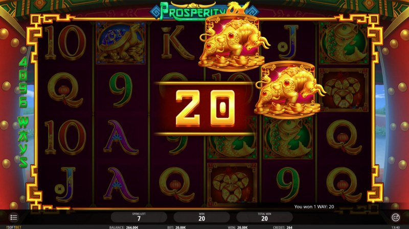 Prosperity Ox :: Free Spins Game Board