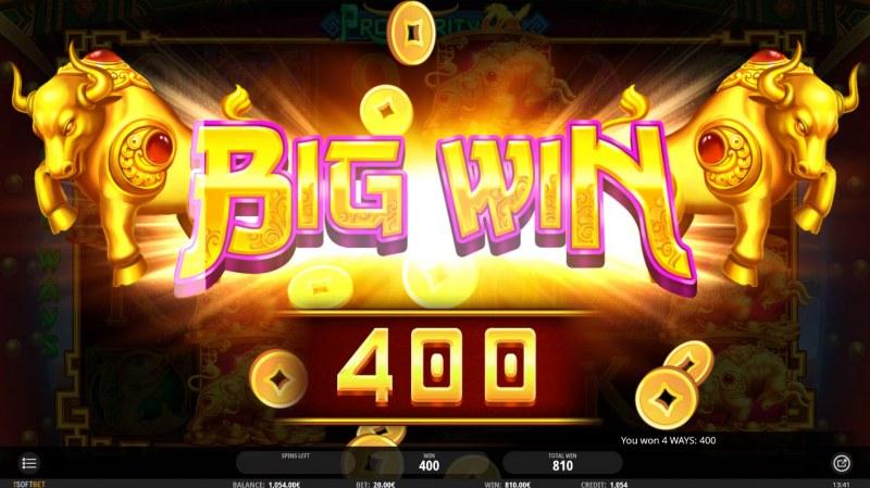 Prosperity Ox :: Big Win