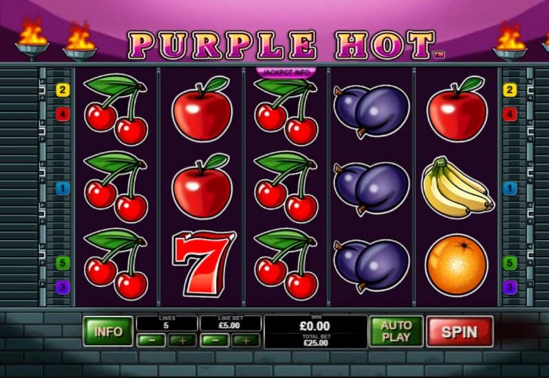 Purple Hot :: Main Game Board