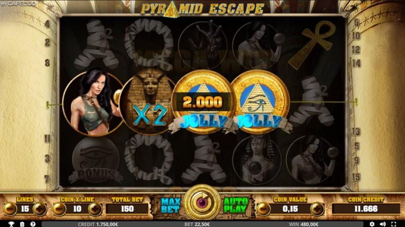 Pyramid Escape :: Four of a kind