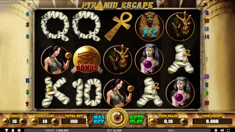 Pyramid Escape :: Main Game Board