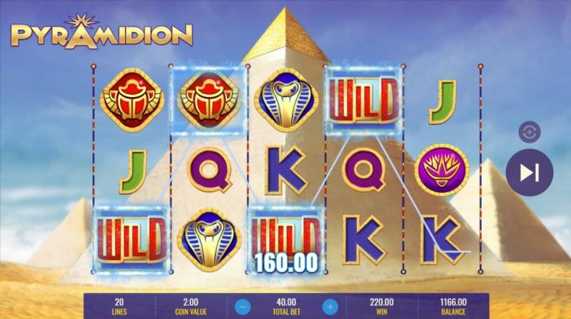 Pyramidion :: Four of a kind