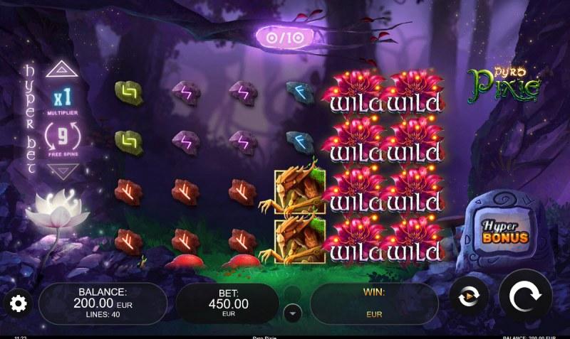 Pyro Pixie :: Main Game Board