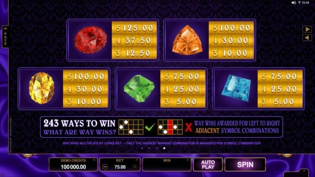 Bonanza featuring the Video Slots Pretty Kitty with a maximum payout of $70,000