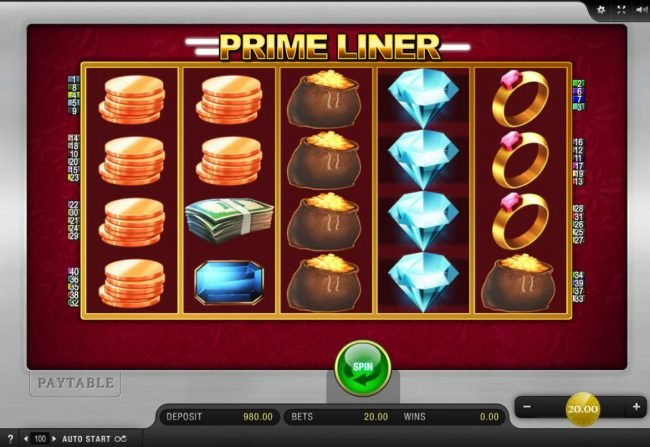 Play slots at Get Slots: Get Slots featuring the Video Slots Prime Liner with a maximum payout of $200,000