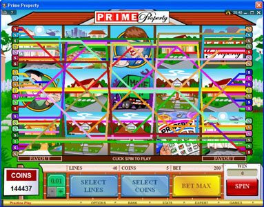 Bonanza featuring the Video Slots Prime Property with a maximum payout of $15,000