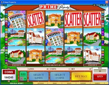 GeoBet featuring the Video Slots Prime Property with a maximum payout of $15,000