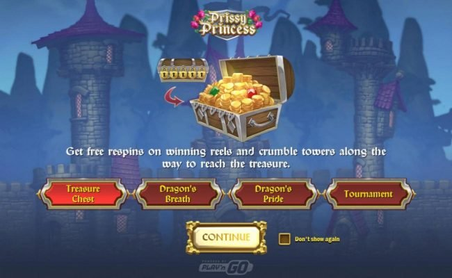 Play slots at Goodwin Casino: Goodwin Casino featuring the Video Slots Prissy Princess with a maximum payout of $25,000
