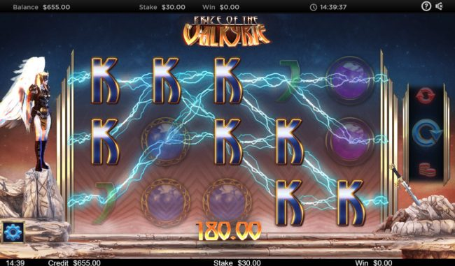 Prize of the Valkyrie :: Big Win