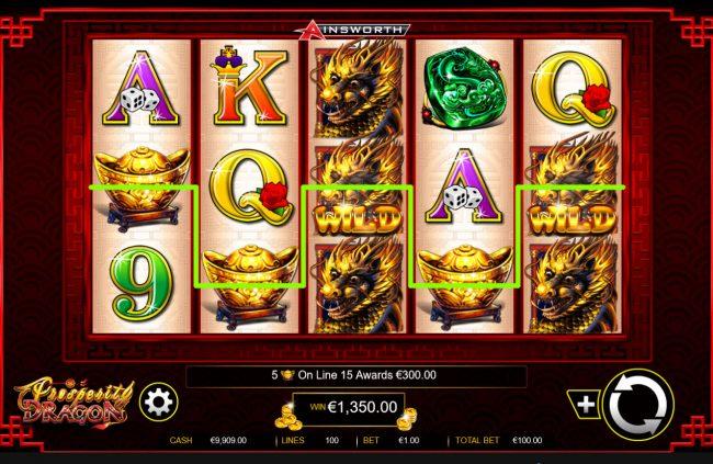 Prosperity Dragon :: Five of a Kind
