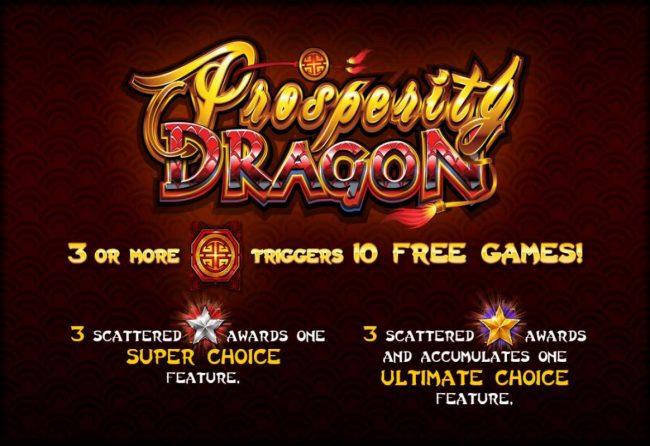 Prosperity Dragon :: Splash screen - game loading
