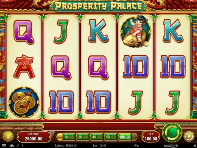 Play slots at Scatters: Scatters featuring the Video Slots Prosperity Palace with a maximum payout of $500,000