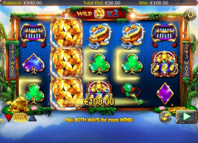 Slotty Vegas featuring the Video Slots Prosperity Twin with a maximum payout of $100,000