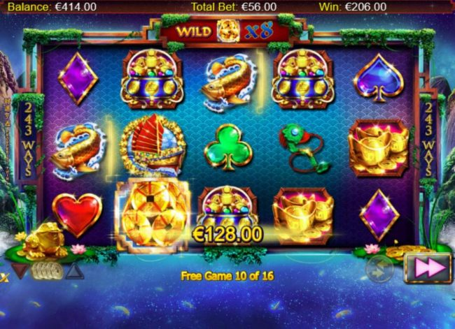 333 Palace featuring the Video Slots Prosperity Twin with a maximum payout of $100,000