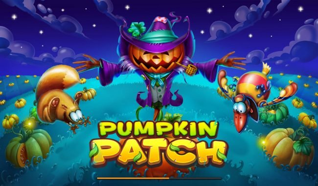 Play slots at Yoyo: Yoyo featuring the Video Slots Pumpkin Patch with a maximum payout of $200,000
