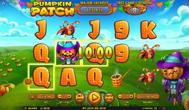 Pumpkin Patch :: Multiple winning paylines