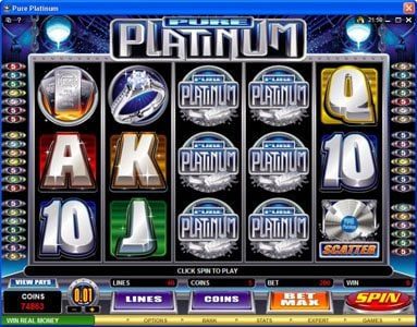 Play slots at Zodiac: Zodiac featuring the Video Slots Pure Platinum with a maximum payout of $50,000