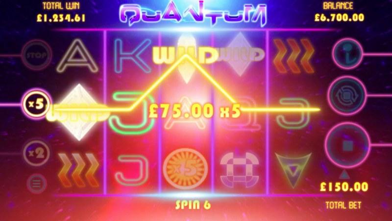 Quantum :: Multiple winning paylines