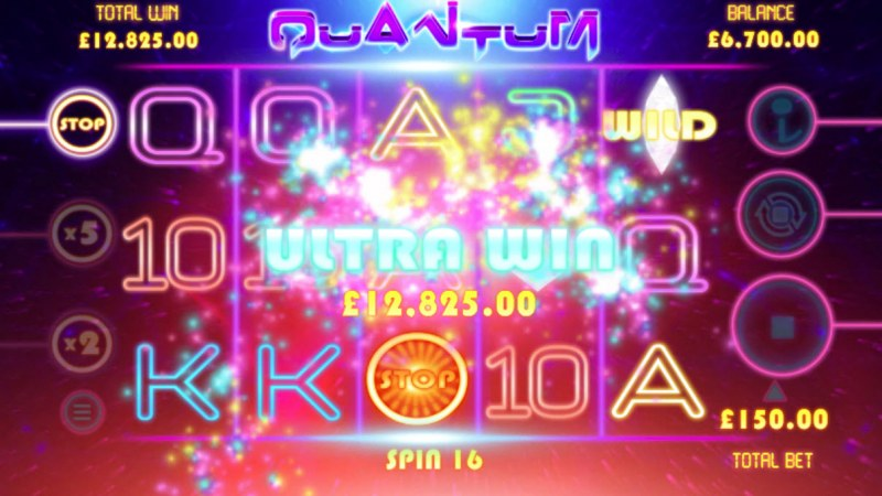 Quantum :: Total free spins payout