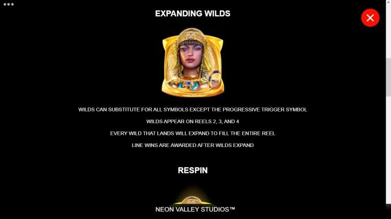 Queen of Alexandria Wow Pot :: Expanding Wild