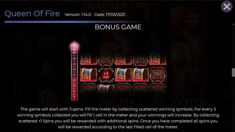Queen of Fire :: Bonus Feature