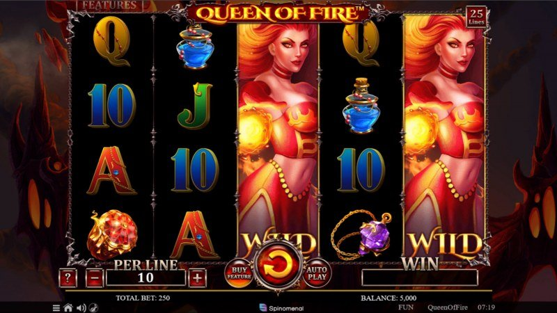Queen of Fire :: Main Game Board