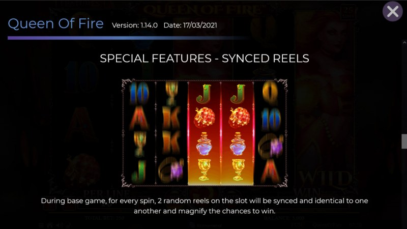 Queen of Fire :: Synced Reels