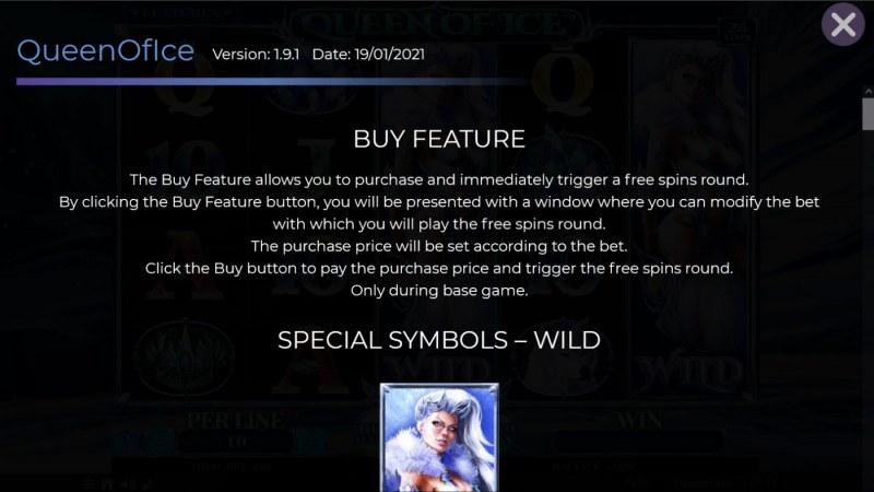 Queen of Ice :: Buy Feature