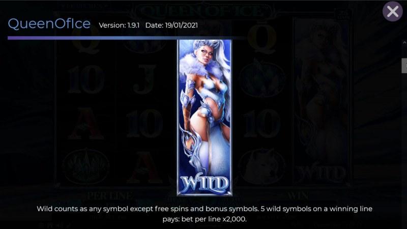 Queen of Ice :: Wild Symbol Rules