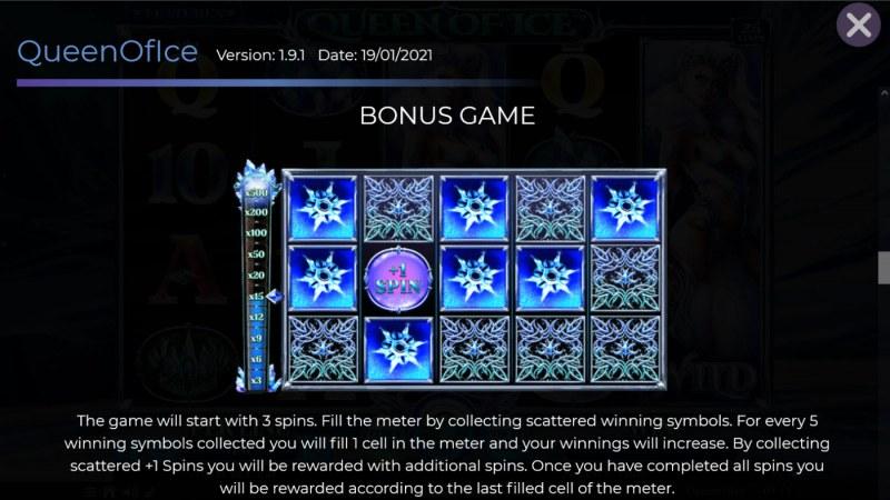 Queen of Ice :: Bonus Feature