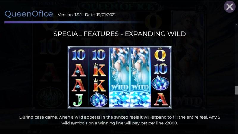 Queen of Ice :: Expanding Wild
