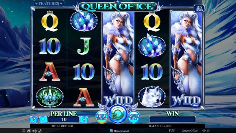 Queen of Ice :: Base Game Screen