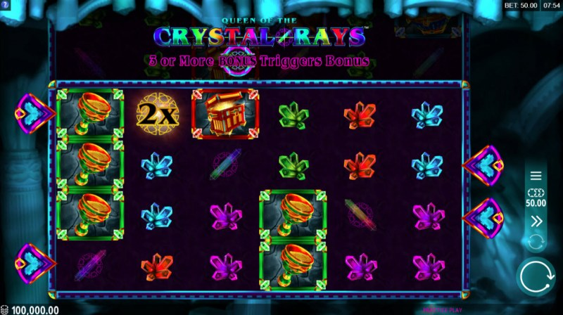 Queen of the Crystal Rays :: Main Game Board