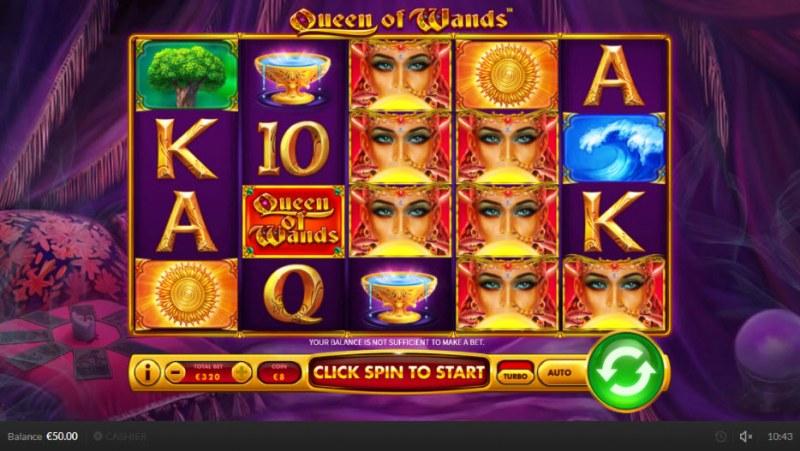 Queen of Wands :: Main Game Board