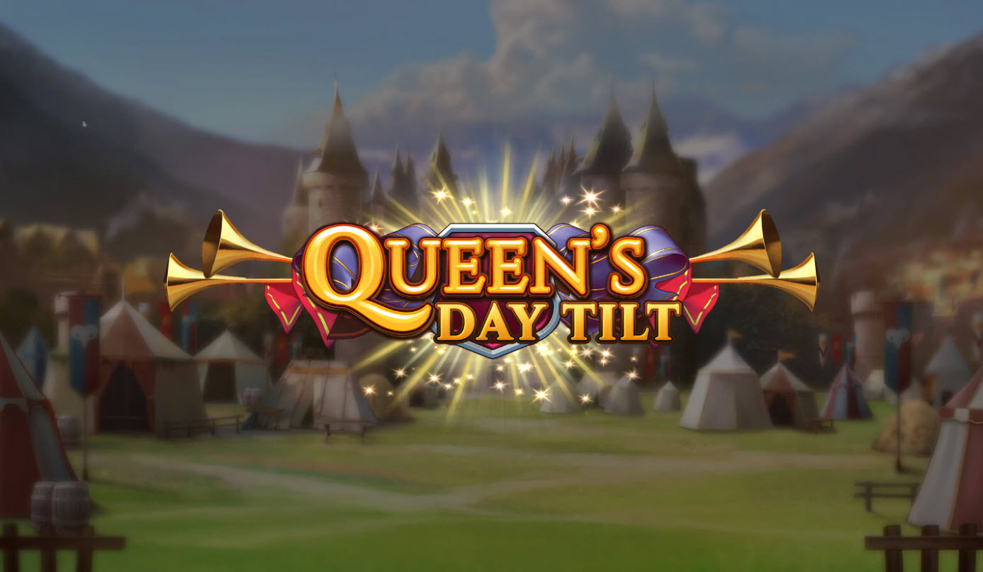 Play slots at B-Bets: B-Bets featuring the Video Slots Queen's Day Tilt with a maximum payout of $500,000
